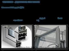 Алюминиевые окна - Система FTS 54 Leight