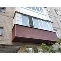 Отделка балконов сайдингом