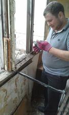 Остекление и обшивка балкона без утепления по ул. Жангильдина, 26 — Компания Валенсия
