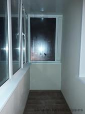 Ремонт балкона «под ключ» по Кашкарбаева — Компания Валенсия