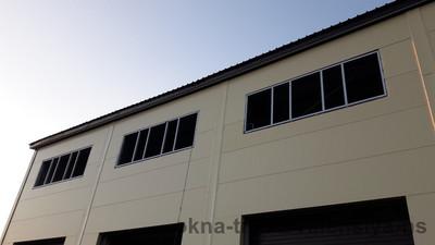 Установка металлопластиковых окон с односторонней ламинацией, мкр. Коктал — Компания Валенсия