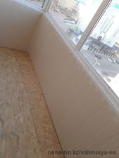 Переостекление балкона, обшивка с утеплением по ул. Майлина, 29 — Компания Валенсия