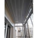 Остекление и обшивка балкона без утепления по ул. Перова, 5