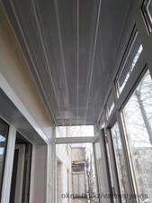 Остекление и обшивка балкона без утепления по ул. Перова, 5 — Компания Валенсия