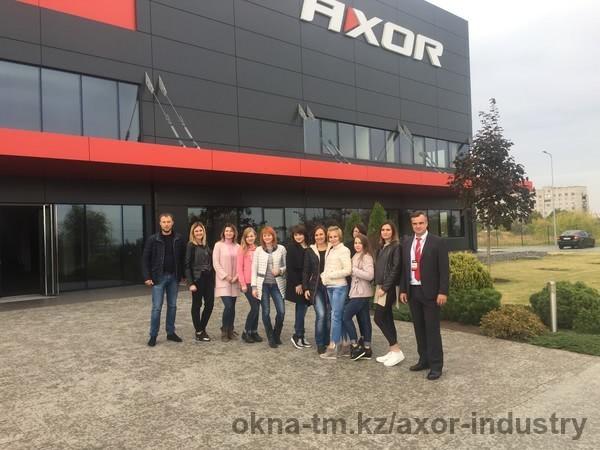 В AXOR Academy прошел тренинг по продажам для сотрудников компании