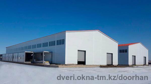 Строительство нового ПСК DoorHan в Астане вышло на финишную прямую