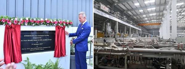 Немецкий концерн profine GmbH открыл новый завод в Индии