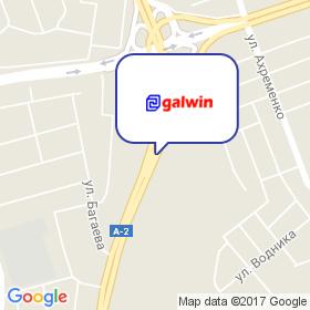 Galwin на карте