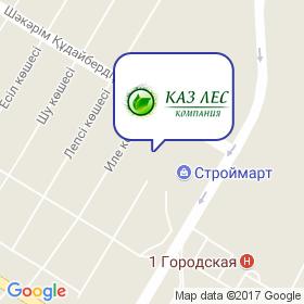 Компания КазЛес на карте