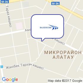 Компания Валенсия на карте