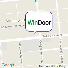 WinDoor Kazakhstan на карте