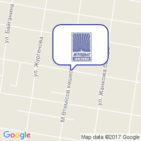 Жулдыз-Актобе на карте