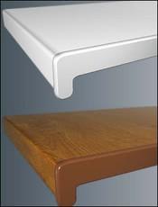 Пластиковые подоконники, цвет белый ширина 30 см