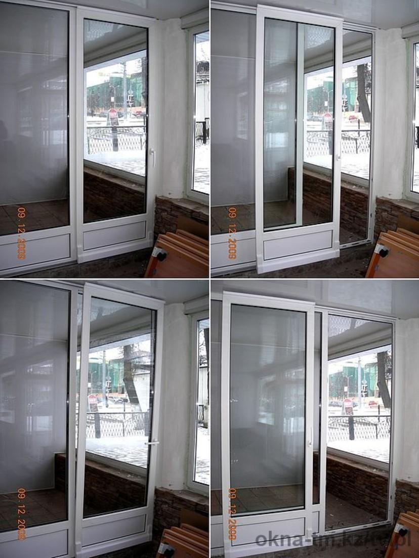 Пластиковые двери купе на балкон фото.