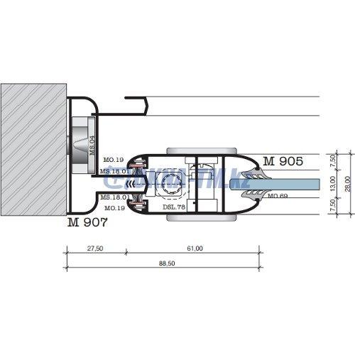 Alumil M 900 Aero профили.